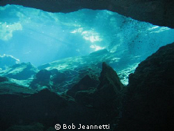 Cenote Chac Mool, Tulum Mexico by Bob Jeannetti 